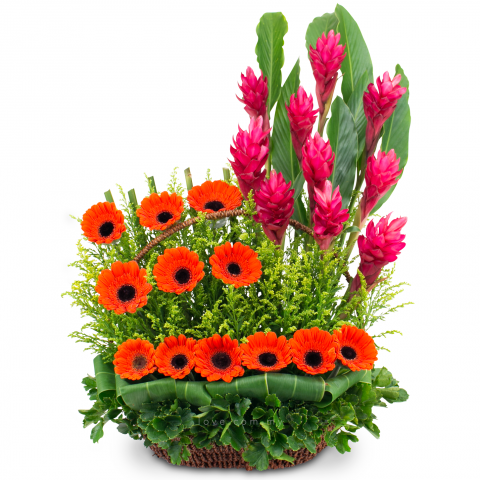 Flower Basket 02