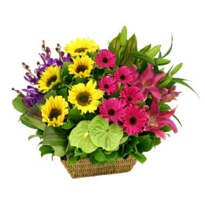 Flower Basket 11