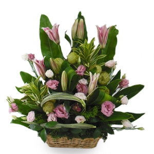 Flower Basket 15