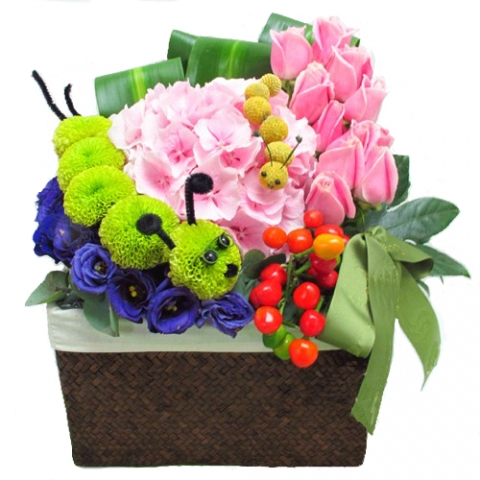 New Flower Basket 11