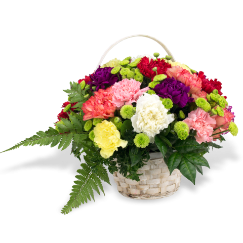 New Carnation Basket 13