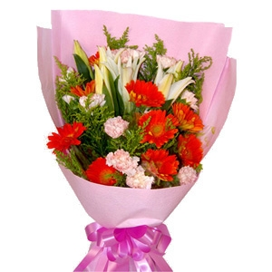 Exclusive Gerbera Bouquet 10