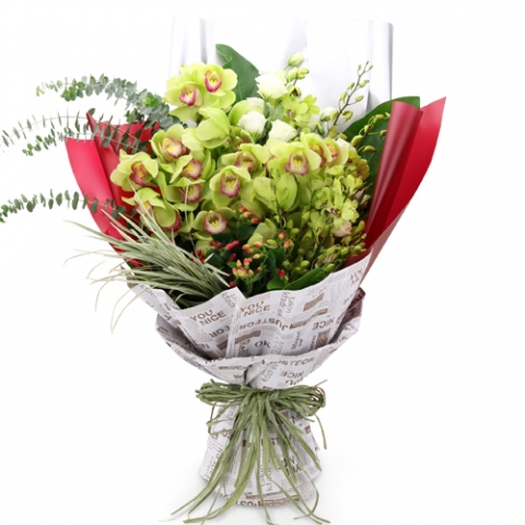 Exclusive Orchid Bouquet 01
