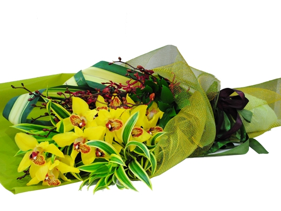 Exclusive Orchid Bouquet 02