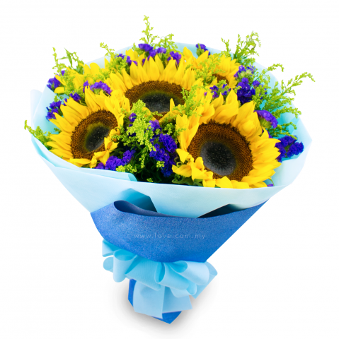 Sunflower Bouquet 04