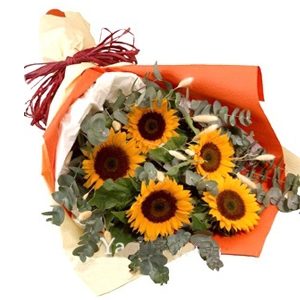 Sunflower Bouquet 07