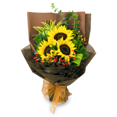 Sunflower Bouquet 14