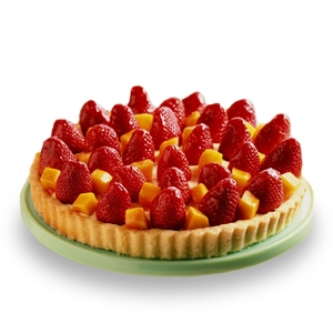 Strawberry & Peach Pie