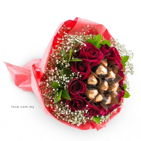 L'amour Belgian Chocolate Bouquet 23