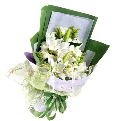 Eustoma Bouquet 01