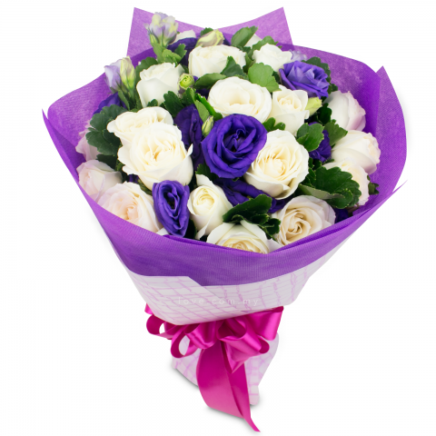 Eustoma Bouquet 05