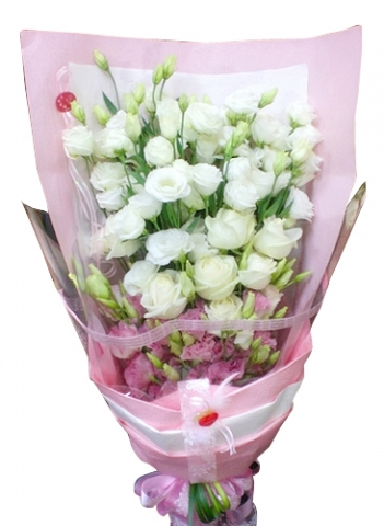 Eustoma Bouquet 12