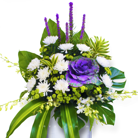 Condolence Floral Stand 25