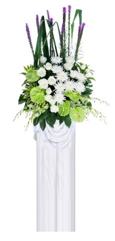 Condolence Floral Stand 32