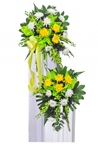 Condolence Floral Stand 39