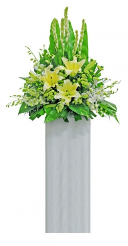 Condolence Floral Stand 44