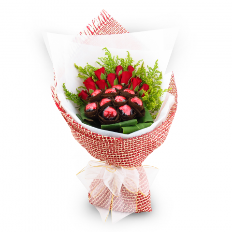 2014 L'amour Belgian Chocolate Bouquet 03