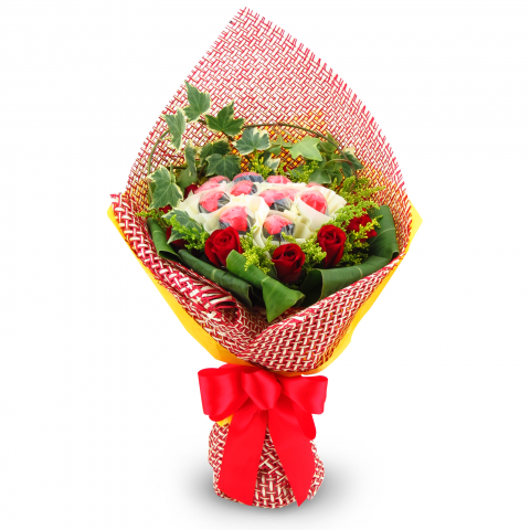 2014 L'amour Belgian Chocolate Bouquet 06