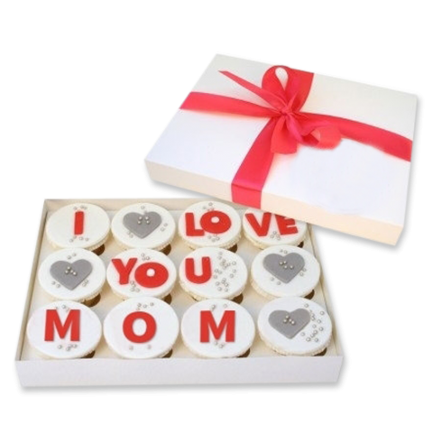 I Love You Mom Cupcakes (LL-025)