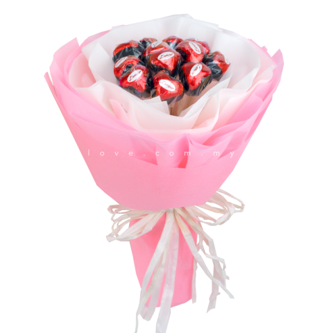 L'amour Belgian Chocolate Bouquet 01