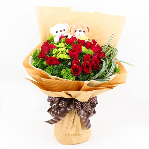 Bear Bouquet 10