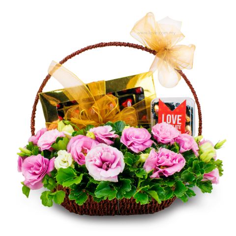 L'amour Fine Chocolates Basket 02