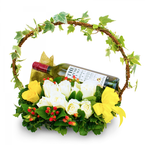 Flowers and Wine 02