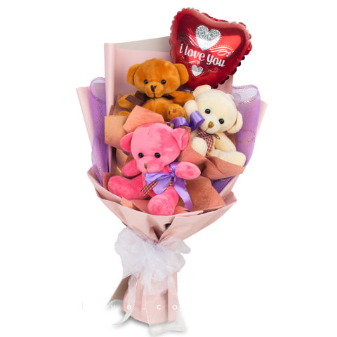 Bear Bouquet 19