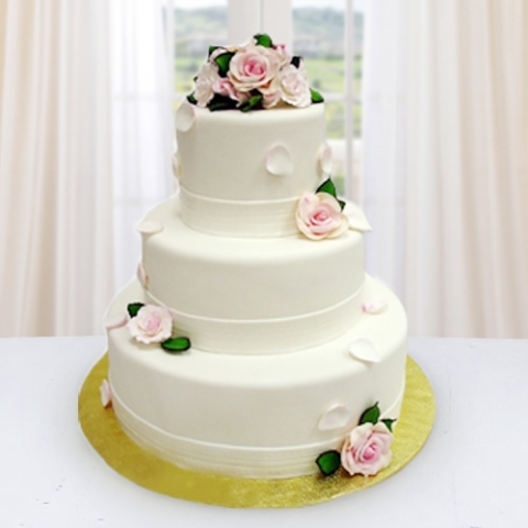 Florist kl malaysia delivering fresh flowers everyday online wedding cake 01 ll 136 junglespirit Image collections
