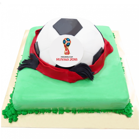 2018 Fifa World Cup Cake
