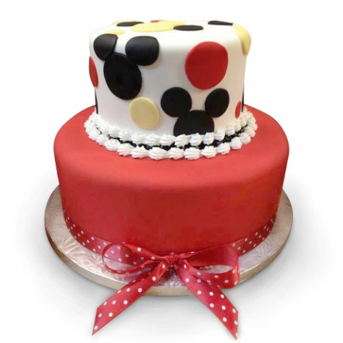 Mickey Mouse Tier Cake
