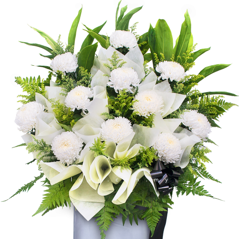 Condolence Floral Stand 12 (MF054)
