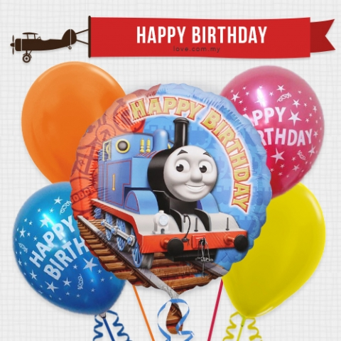 (KBB09) Kids Birthday Balloon 09