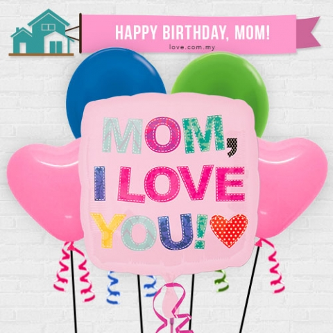 (IBB11) Birthday Balloon For Mom