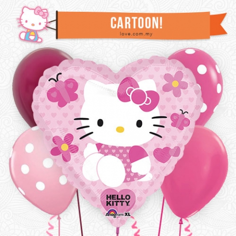 (KBB17) Hello Kitty Balloon 17