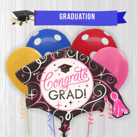 (GB01) Graduation Balloon 01