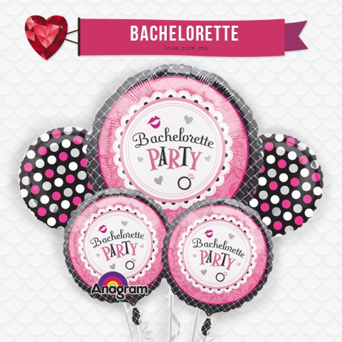 (WB19) Bachelorette Party Balloon Set 19