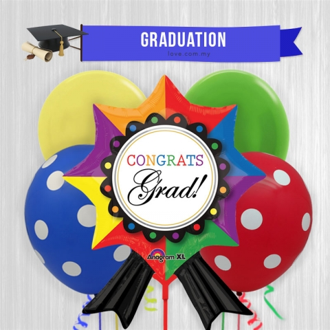 (GB06) Graduation Balloon 06