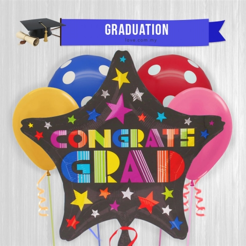 (GB07) Graduation Balloon 07