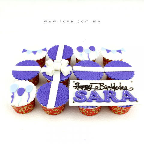 Happy Birthday Cupcakes (LL-012)