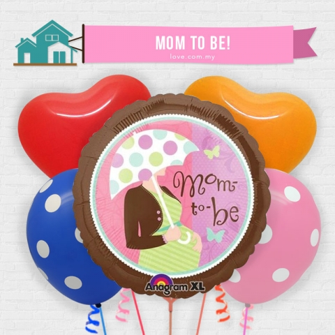 (ECB17) Mom-To-Be Balloon