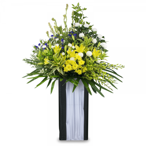 Condolence Floral Stand 48