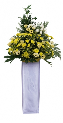 Condolence Floral Stand 49
