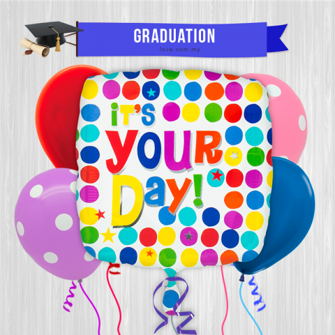 (ECB05) It's You Day Balloon