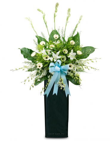 Condolence Floral Stand 05