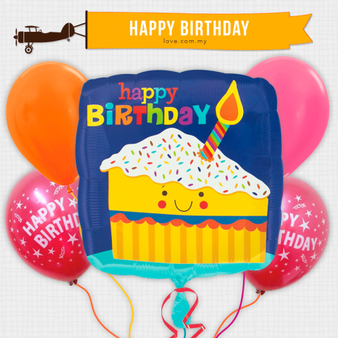 (BCB33) Birthday Celebration Balloon 33