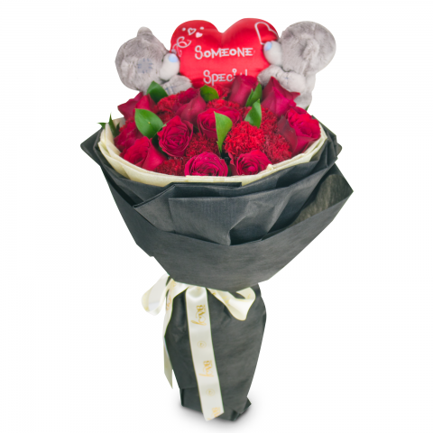 SomeOne Special Bear Bouquet 01