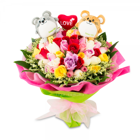 2015 Bear Bouquet 03