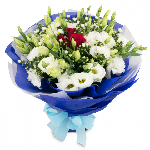 Eustoma Bouquet 15