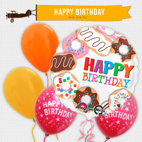 (BCB14) Birthday Celebration Balloon 14